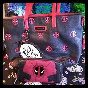Handbags - Deadpool wallet